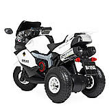 Мотоцикл Bambi M 4189AL-1 Белый, фото 2