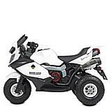 Мотоцикл Bambi M 4189AL-1 Белый, фото 4