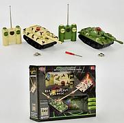 Детский танковый бой на радиоуправлении 508-10, 2 шт, музыка, свет, на аккумуляторе, в коробке