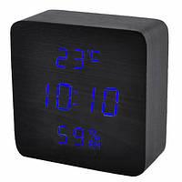 Часы электронные VST-872S-5, термометр, будильник, влажность, календарь