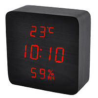 Часы электронные VST-872S-1, термометр, будильник, влажность, календарь