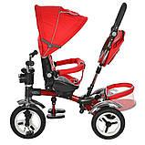 Велосипед трехколесный TURBOTRIKE M 3199-3HA Красный, фото 2