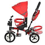 Велосипед трехколесный TURBOTRIKE M 3199-3HA Красный, фото 4