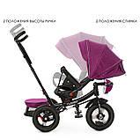 Велосипед трехколесный TURBOTRIKE M 4060HA-18T Фиолетовый, фото 2