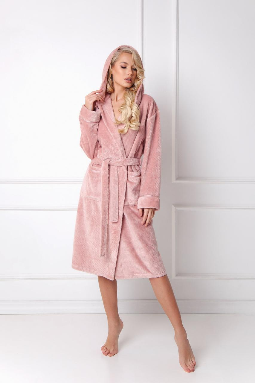 Жіночий халат для дому ARUELLE ADELINE pink