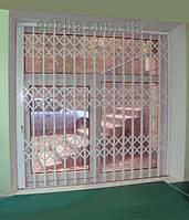 Решетки раздвижные на окна Шир.1800*Выс1950мм