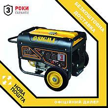 Генератор бензиновий 5.0/5.5кВт 4-х тактний електрозапуск Pro-S SIGMA (5710621)