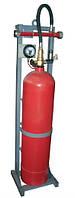 Модуль газового пожаротушения МГП-1-100 коллектор DN32