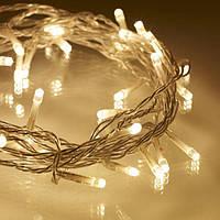 """Cветодиодная новогодняя гирлянда """"Нить"""" WW-1 400 LED теплый белый (2_006599), фото 1"""
