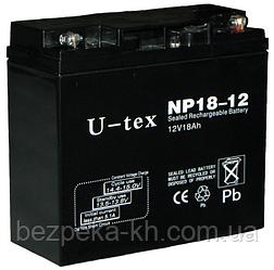 Аккумуляторная батарея U-tex NP18-12
