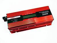 Перетворювач напруги інвертор UKC KC-2000D AC/DC 2000W з LCD дисплеєм Red (4_00061), фото 1