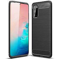 TPU чехол iPaky Slim Series для Samsung Galaxy S20 Черный