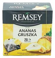 Чай в пакетах Remsey Ананас-груша, 20 шт.
