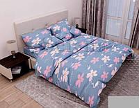 Комплект постельного белья бязь Цветочный Фламинго (Двуспальный)