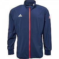 Спортивна кофта adidas Olympics Woven Top Night Indigo Blue - Оригінал