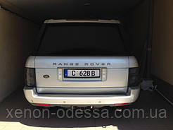 НАШИ РАБОТЫ: Range Rover оклейка крыши в черный глянец