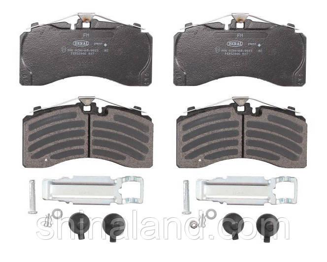 Гальмівні колодки дискові задні MERCEDES DCA, TE, TZ; SAF B, S, SKRS, Z Beral OE 0044207020