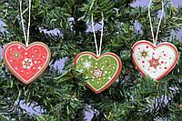 Набор подвесок Сердце из 9 штук SKL11-208610