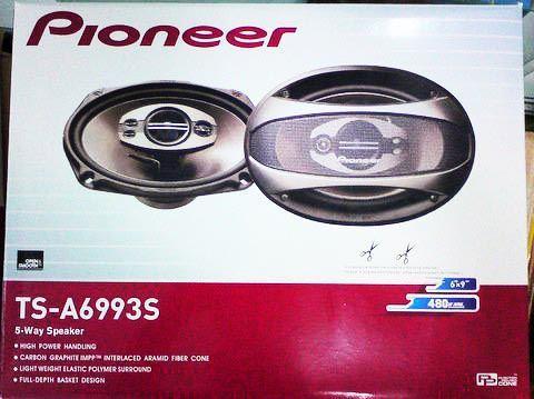 Автомобильные динамики овалы Pioneer TS-A6993S (460 Вт) двухполосные