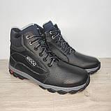 Мужские зимние ботинки 43 р черные Roksol арт 1616, фото 3