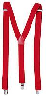 Подтяжки мужские эластичные H&M красные 0499334002, фото 1