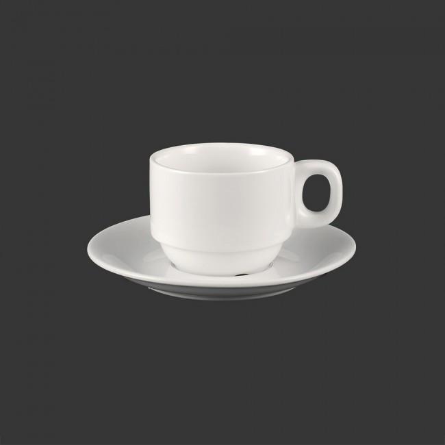 Набор кофейный HLS Extra white (чашка с блюдцем) 100 мл (W0283)