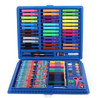 """Набор для рисования ARTISTS CORNER Art Set """"набор юного художника"""" 150 шт Голубой (5622)"""
