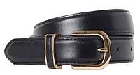 Универсальный женский кожаный ремень H&M черный