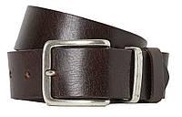 Кожаный мужской ремень под брюки H&M коричневый, 0788125002, фото 1