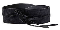 Широкий женский ремень, корсет на завязках H&M черный, фото 1