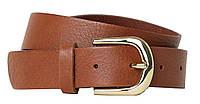 Женский кожаный ремень H&M коричневый 0179950002, фото 1