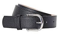 Женский ремень из эко кожи H&M черный 0516859008 silver, фото 1