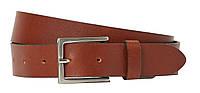 Кожаный мужской ремень под брюки H&M коричневый 0848519001, фото 1