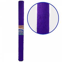 Креп-Бумага 150% Размер 50*200см, 95г/м2, Темно-фиолетовый