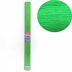 Креп-Бумага 150% Размер 50*200см, 95г/м2, Светло-зеленый