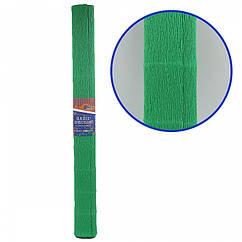 Креп-Бумага 150% Размер 50*200см, 95г/м2, Зеленый