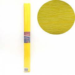 Креп-Бумага 150% Размер 50*200см, 95г/м2, Желтый