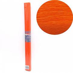 Креп-Бумага 150% Размер 50*200см, 95г/м2, Оранжевый