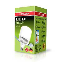Лампа LED высокомощная EUROLAMP 40W E27 6500K