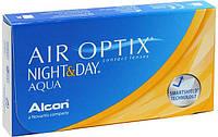 Контактные Линзы Air Optix Night&Day Aqua (Упаковка 3 шт) (+6.0...-10.0) 1 месяц