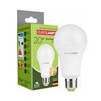"""Лампа LED EUROLAMP ЕКО серия """"D"""" А75 20W E27 4000K (50)"""