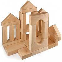 """Конструктор """"Городок №3"""" ВП-003/3 11233, деревянный конструктор,конструктор из дерева,детские конструкторы,3d"""