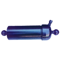 Гидроцилиндр ГЦТ1-3-17-695 / подъёма кузова ГАЗ-53 3-х штоковый