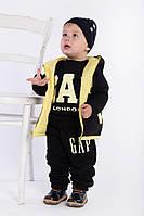 "Е121/2 Детский костюм-тройка  на флисе ""Gap"""