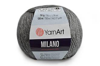 YarnArt Milano, Темно-серый №868