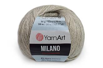 YarnArt Milano, Бежево-серый №870