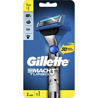Бритва Gillette MACH3 Turbo 3D (7702018529209)