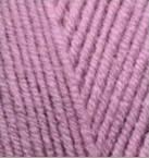 Турецкая пряжа Alize Lanagold для ручного вязания полушерсть сухая роза №28