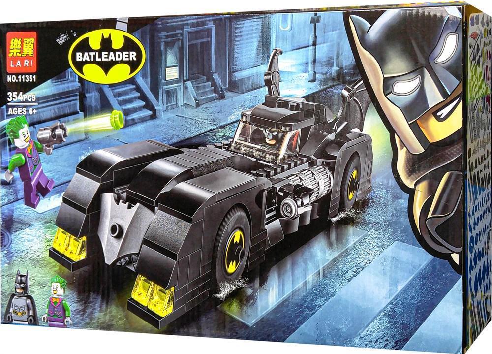 Конструктор Bela (Lari) «Super Heroes» (11351) Бэтмобиль: Погоня за Джокером, 354 детали