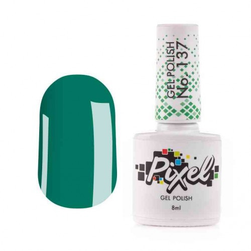 Гель-лак Pixel №137 соковита зелень, 8мл